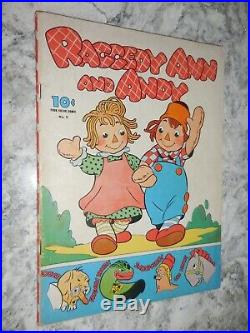 1942 Dell Four Color 4C #5 Raggedy Ann and Andy #1 VG/F 5.0
