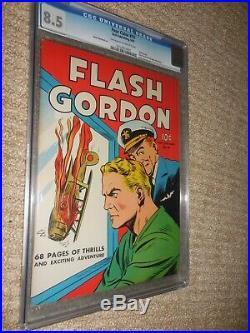 1942 Dell Four Color FC #10 Flash Gordon CGC 8.5 Very Fine Plus