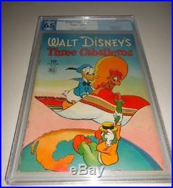 1945 Dell Four Color FC #71 Walt Disney's Three Caballeros PGX 6.5 Fine+