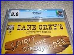 1948 Dell Four Color FC #197 Zane Grey's Spirit of the Border #1 CGC 8.0