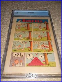1949 Dell Four Color FC #219 Popeye Swee' Pea CGC 6.0