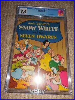 1952 Dell Four Color #382 Snow White and the Seven Dwarfs CGC 9.4 NM Highest