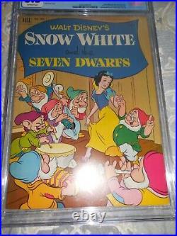 1952 Dell Four Color FC #382 Snow White and the Seven Dwarfs CGC 8.5 VF+