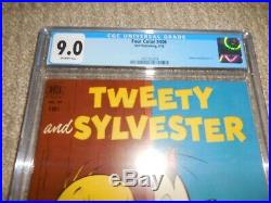1952 Dell Four Color FC #406 Tweety and Sylvester #1 CGC 9.0