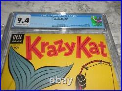 1955 Dell Four Color FC #619 Krazy Kat CGC 9.4 NM