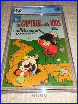 1958 Dell Four Color FC #881 The Captain and the Kids CGC 9.0 VF/NM