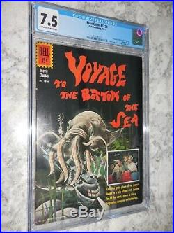 1961 Dell Four Color FC #1230 Voyage to the Bottom of the Sea CGC 7.5 VF