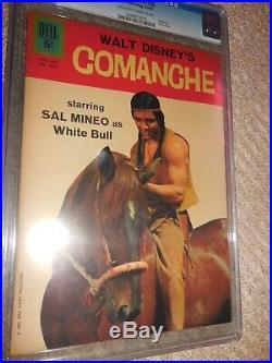 1962 Dell Four Color FC #1350 Comanche CGC 9.2 NM