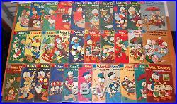 31 Walt Disney Comics and Stories Donald Duck Four Color Comic Collection1953-60