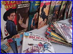Big Western MEGA SET Solid! Rawhide Four Color! 72 Dell/Gold Key Comics s 11357