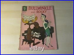 Bullwinkle And Rocky #1270 (#1) Dell Four Color 1st Appearance In Comics! Htf