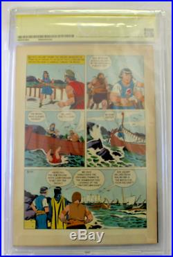 CBCS Graded 8.5 VF+, FOUR COLOR #650 PRINCE VALIANT (1955) SIGNED ROBERT WAGNER