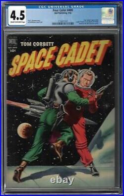 Cgc 4.5 Four Color #400 Tom Corbett Space Cadet 1952 Awesome Spaceship Scifi Cvr