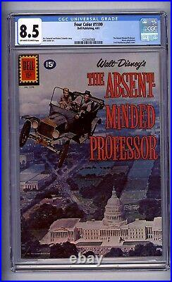 Cgc (dell) Four Color 1199 Vf+ 8.5 Absent Minded Professor 1961