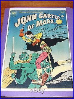 Comic Dell Four Color #375 JOHN CARTER of MARS 1952 Jesse Marsh art Origin ERB