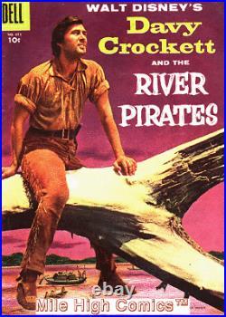 DAVY CROCKETT (1955 Series) (DELL FOUR COLORS) #1 FC #671 Very Good Comics Book