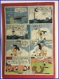 Dell Four Color #108 Comic Walt Disney's Donald Duck Golden Age 1946