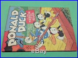 Dell Four Color #108 Donald Duck In The Terror Of The River Fn Carl Barks 1946