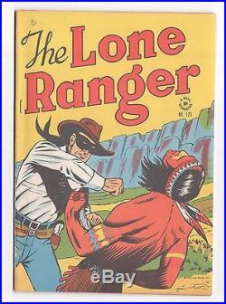 Dell Four Color #125 (1942 Series) The Lone Ranger 1946 VF+ (8.5 9.0 Range)