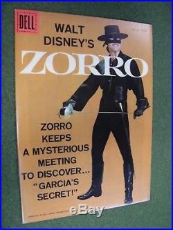 Dell Four Color #933 Walt Disney's Zorro (1958) Beautiful NM