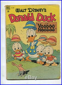 Dell Four Color Comics #238 (4.0)donald Duck In Voodoo Hoodoo By Carl Barks Key