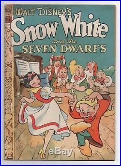 Dell Four Color Comics 49 Walt Disney's Snow White And The Seven Dwarfs 1944