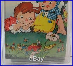 Dell Four Color Raggedy Ann Comics #72 05/1945 Cgc 8.5 Vf+ #0045928006