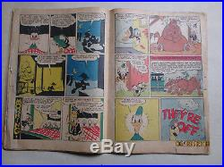 Donald Duck And The Mummy's Ring Carl Barks Art Aka Four Color Comics # 29