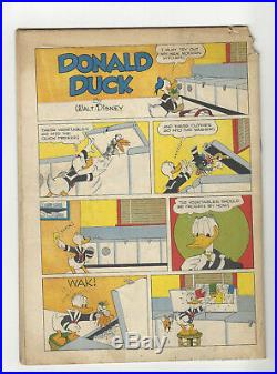 Donald Duck Four Color #178 1st app. Uncle Scrooge Carl Barks 1947 Christmas