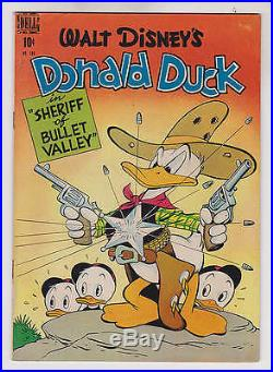 Donald Duck Four Color #199 F/vf 7