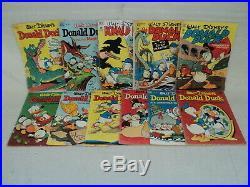 Donald Duck Four Color + 27-105 (miss. #97) SET Dell Gold Key Comics (s 11159)