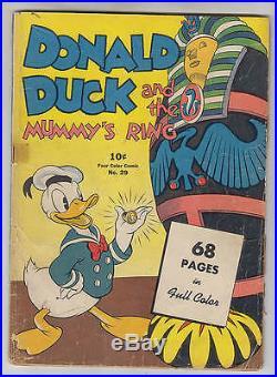 Donald Duck Four Color #29 G+ 2.5