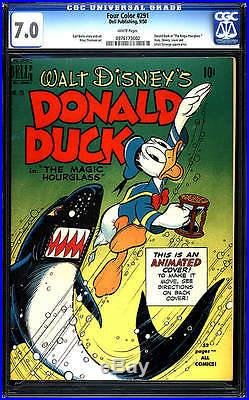 Donald Duck Four Color #291 F/vf 7