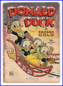 Donald Duck Four Color #62 G/vg 3