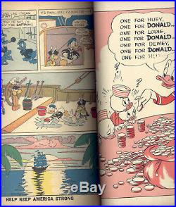 Donald Duck Four Color #9 VG- 1st Carl Barks Classic Finds Pirate Gold, Hannah