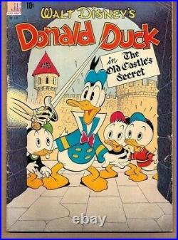 Donald Duck Old Castle Secret. Vg- Four Color #189 1948 Dell