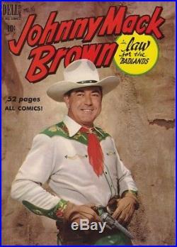 FOUR COLOR # 269 JOHNNY MACK BROWN # 1 GAYLORD DuBOIS script / JESSE MARSH art