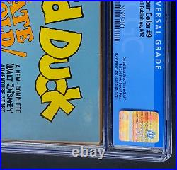 FOUR COLOR #9 (Dell 1942) CGC 6.5 1st Carl Barks Donald Duck! Pirate Gold