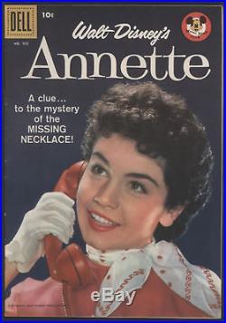 FOUR COLOR #905, Annette, 1958, Dell Comics VF