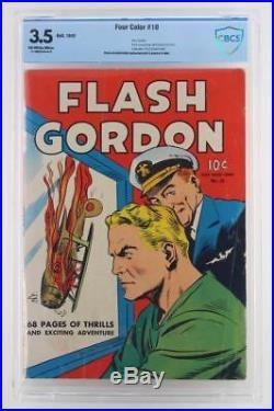 Four Color #10 CBCS 3.5 VG- Dell 1942 Flash Gordon
