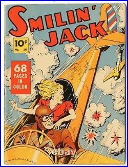 Four Color #10 VG Smilin' Jack 1936 Series l
