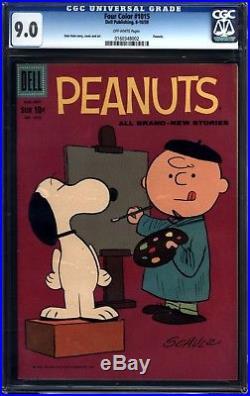 Four Color #1015 Peanuts CGC 9.0