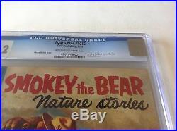Four Color 1016 Cgc 9.2 Smokey The Bear Beautiful High Grade Copy Dell Comics