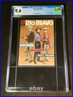 Four Color 1018 Cgc 9.6 2007 Warner Brothers 100th Anniversay Rio Bravo