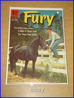 Four Color #1031 Nm (9.4) Dell Comics Fury September 1959