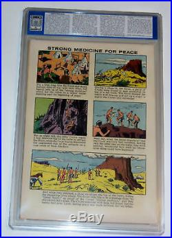 Four Color #1056 Cgc 9.0 Ow Yellowstone Kelly Clint Walker Dell 1959