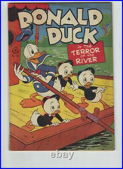 Four Color 108, Donald Duck in the Terror of the River, Barks art