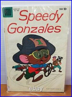 Four Color #1084 1st Speedy Gonzales cover solo Dell 1960 G see pics