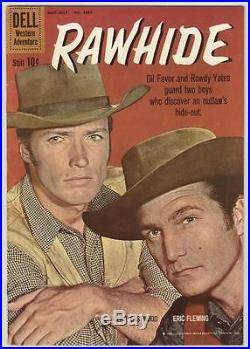Four Color #1097 May 1960 FN+ Rawhide, Clint Eastwood photo cover