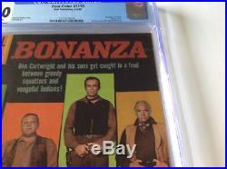 Four Color 1110 Cgc 7.0 Bonanza 1st Issue Nbc Tv Hoss Little Joe Dell Comics